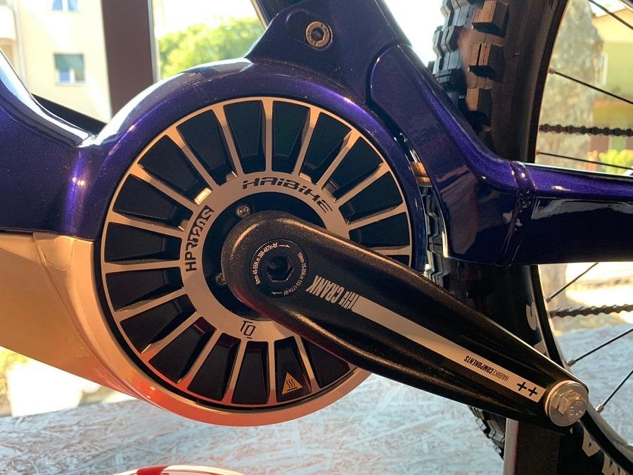 motore: il potentissimo Flyon HPR120Sche con la sua coppia di 120 Nm
